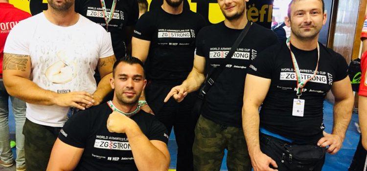 Josip Poleš 10. na Europskom prvenstvu u obaranju ruke u Sofiji