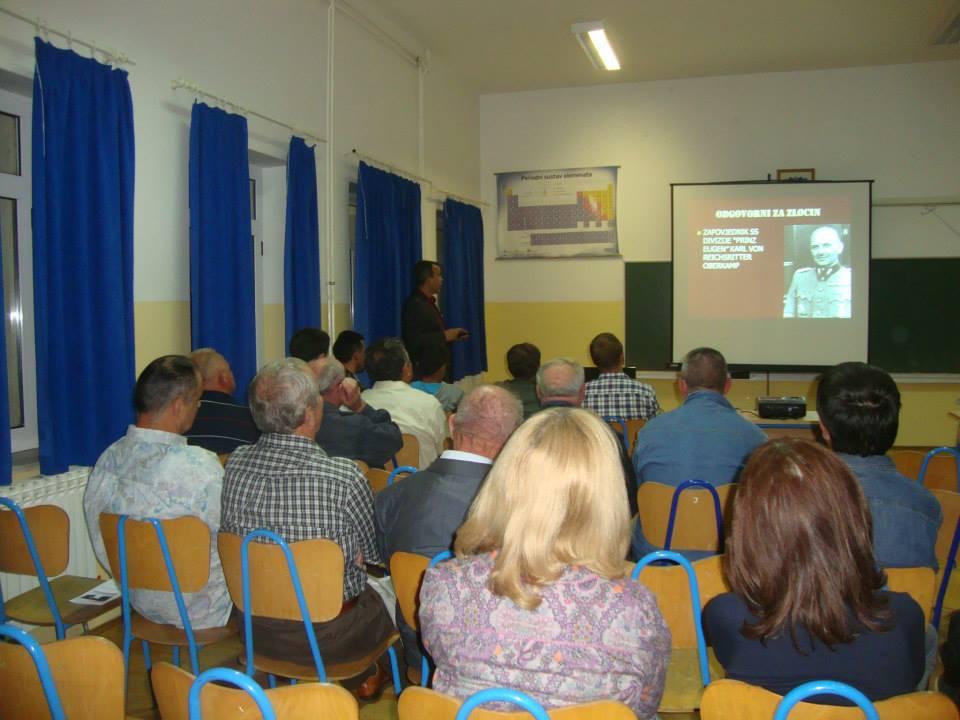 Predavanje mr.sc. Ivana Kozlice u školi u Košutama