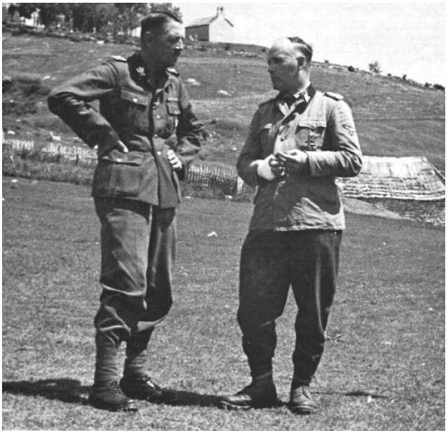 Arthur Phleps i Karl Reichsritter von Oberkamp