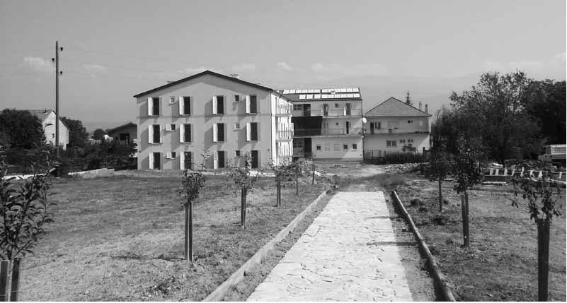 Samostan u Košutama u gradnji, 2. IX. 2016. (f. J. Dukić)